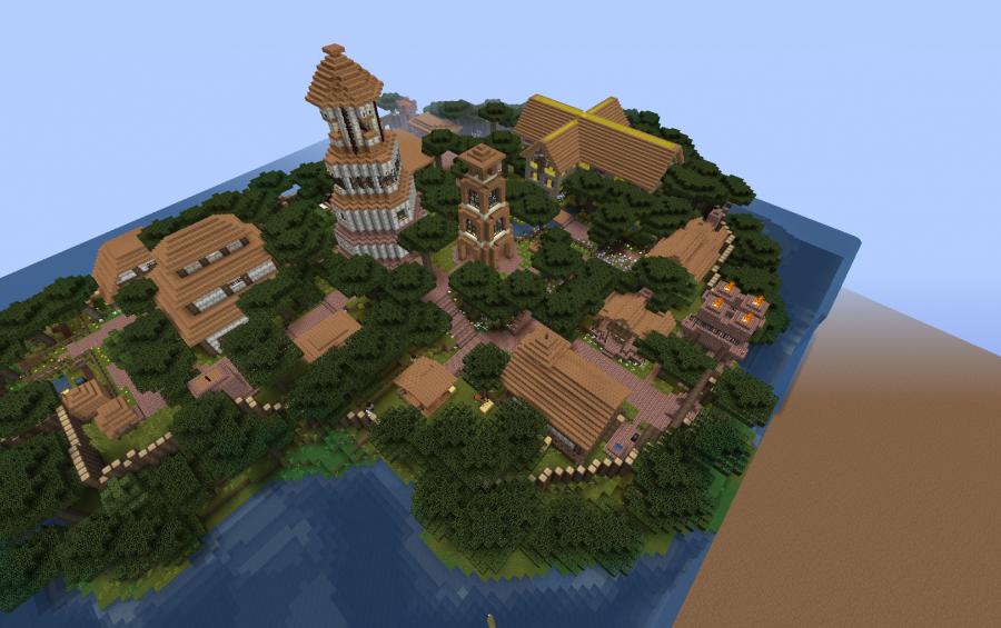 Minecraft Island Village Schematic Auto Electrical Wiring Diagram