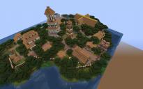 Island town