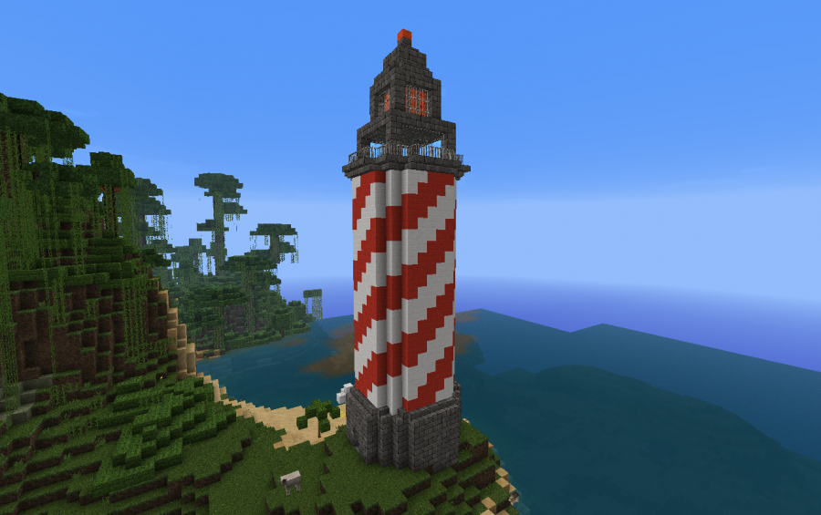 List Of Synonyms And Antonyms Of The Word Minecraft Lighthouse