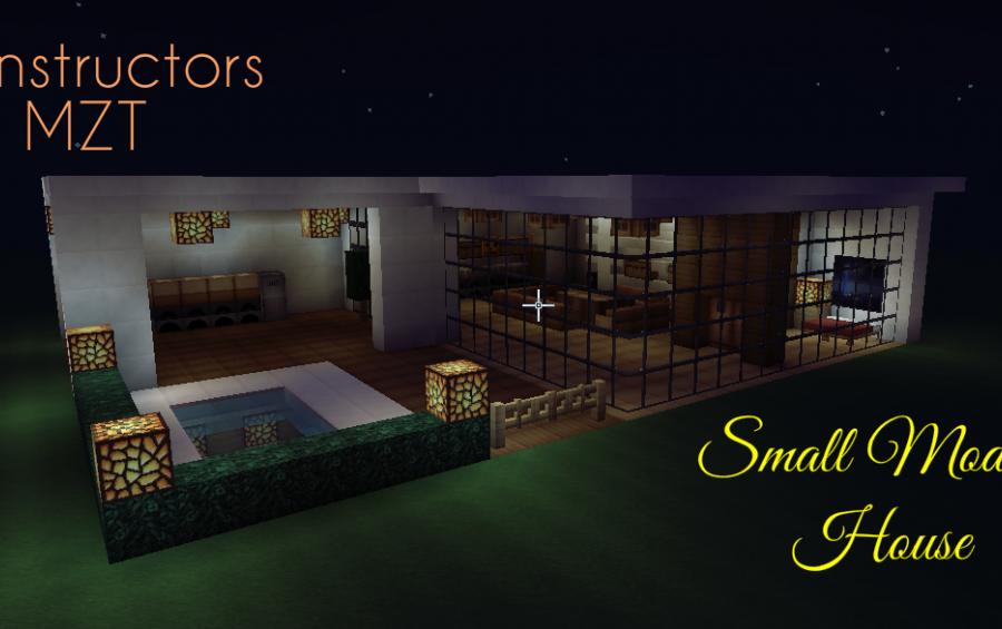 Small Modern House creation 4250