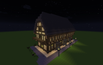 timbered house2