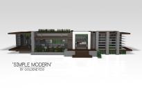 """Simple Modern | Modern House"