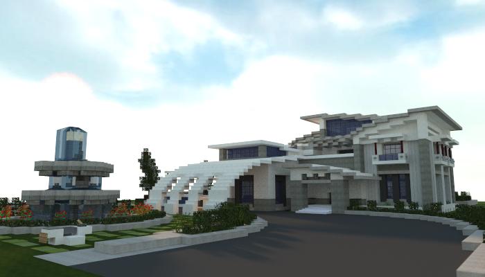 Modern House creation 4356