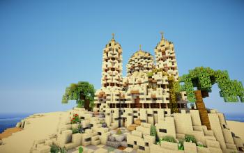 Arabic Mosque by Martzert
