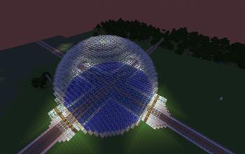 4-way Dome Train Hub / Aquarium