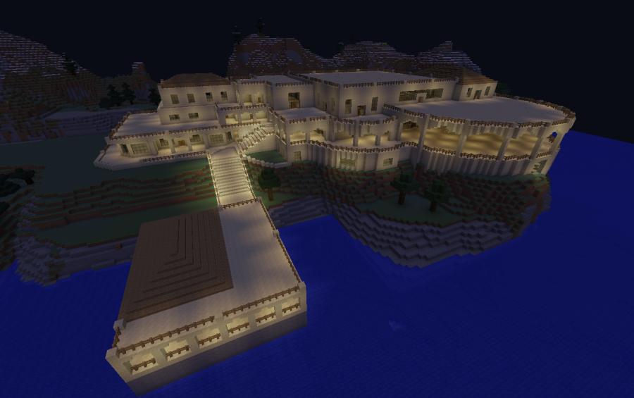 Marvelous Redstone Lamp Chandelier Minecraft Gallery - Chandelier ...