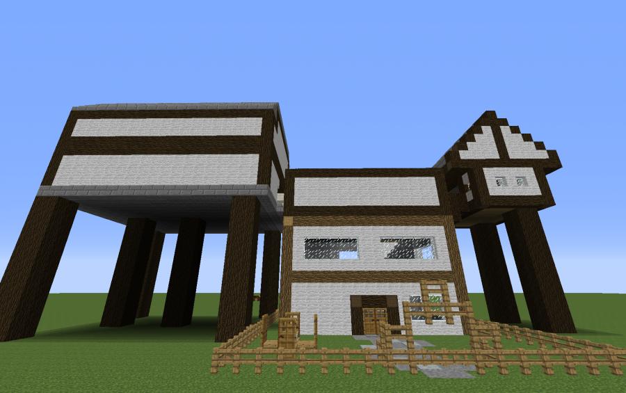 Steampunk House Creation 4414