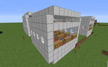 Airplane building kit: Passenger module