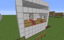 Airplane building kit: Bathroom Module