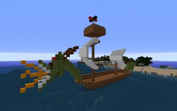 Dragon Pirate Ship