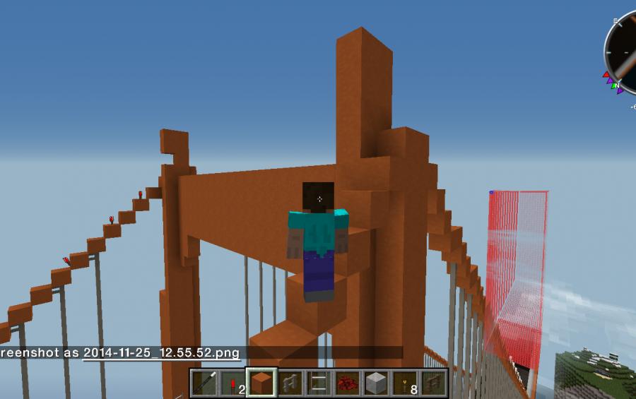 Golden gate bridge download minecraft