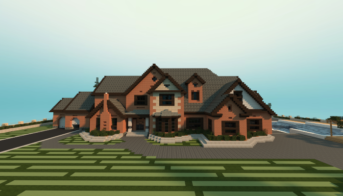 Traditional Mansion Creation 4570