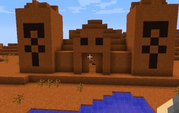 Red Desert Temple