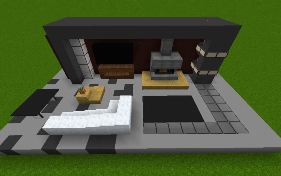 Charming Small Modern Living Room