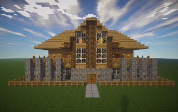 House for survival map