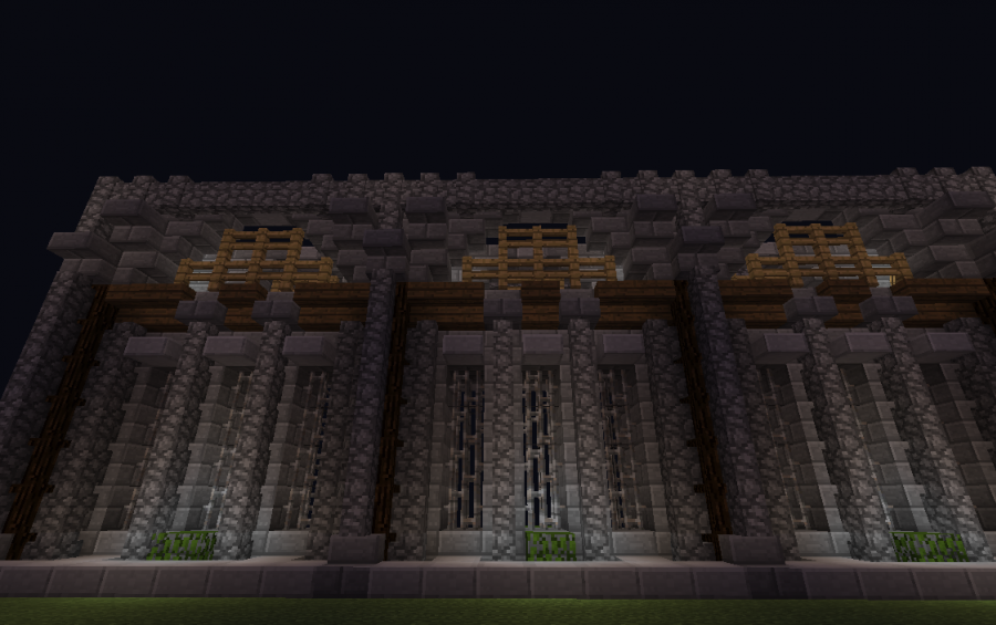 Castle or spawn wall creation 4648 for Minecraft interior wall designs