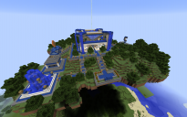 Floating Island Spawn for my Server