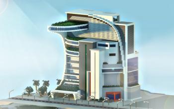 Modern/Futuristic Building
