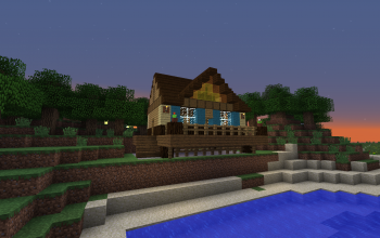 Small Lakeside Cottage