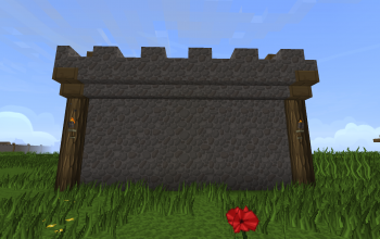 Village Wall Segment (Basic)