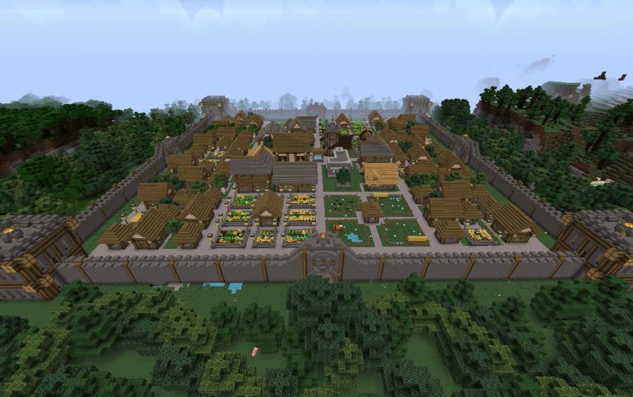 Exampleton Basic Village, creation #4861 on