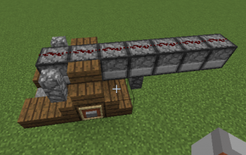 how to make a small tnt cannon in minecraft