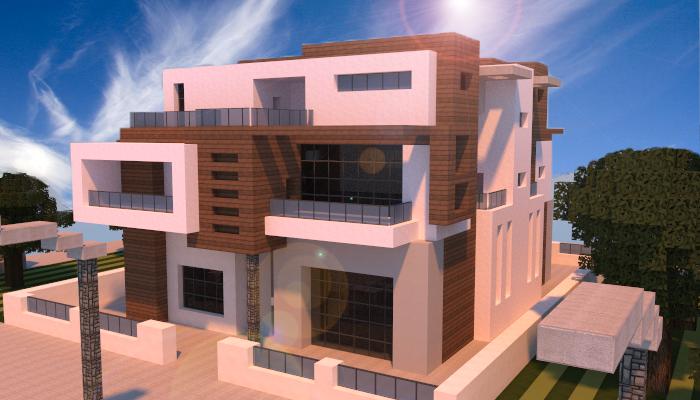 Modern townhouse 2 creation 4935 for Casas modernas futuristas