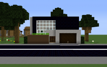 Minecraft Houses and shops creations 70