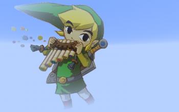 Legend of Zelda: Spirit Flute Link