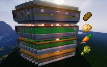 [1.8] - Ultima Farm! Carrot, Potatoes, Wheat, Bread and Wheat Seed!