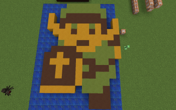 zelda in vanilla minecraft 1.8 V2
