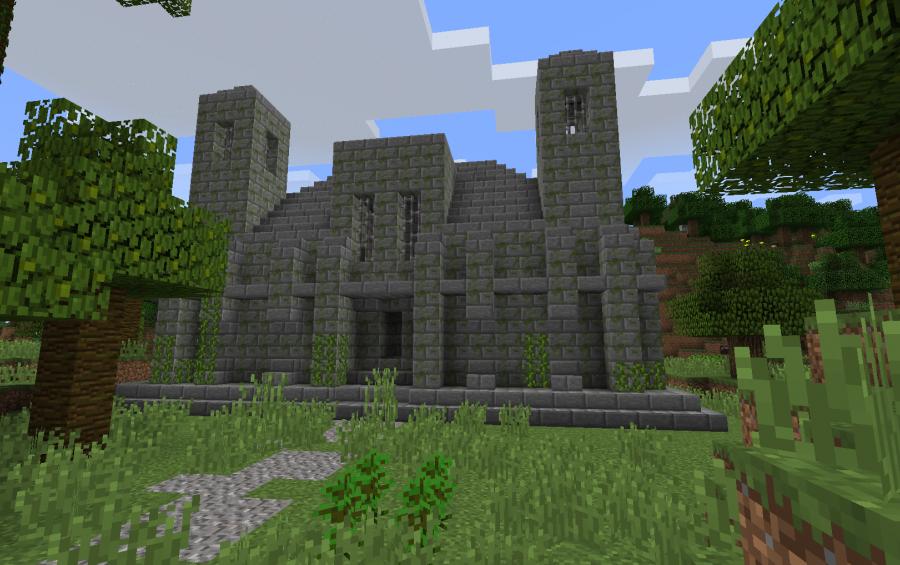 Jungle Temple Creation 5100