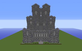 Epic Stone Spawn Castle