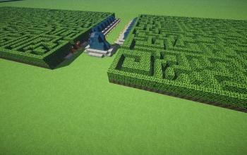 Double Hedge Maze