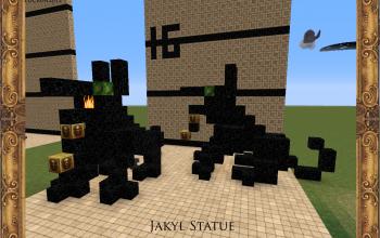Jakyl Statue