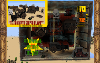 Train 0 Death Sooper PlaySet!!!