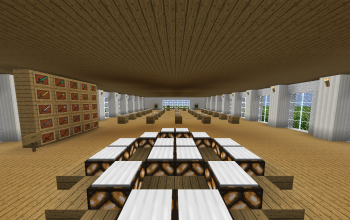 A Minecraft School (Furnished and Finished!)