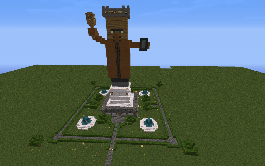 King Statue, creation #518