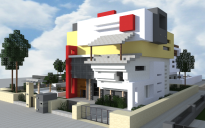 Modern Town house 5