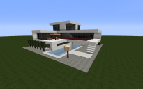 Three Floor Modern House