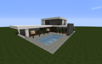 Large Two Floor Modern House