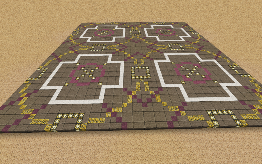 Town Center Floor Design, creation #5244