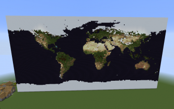 Minecraft pixel art creations 61 world map gumiabroncs Choice Image