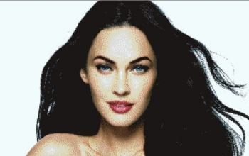 Megan Fox Pixel Art