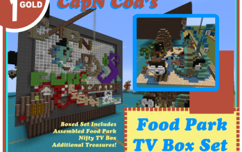 CapNCod's FoodPark Set
