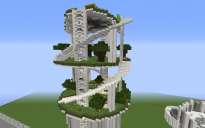 Top of the stack-able tower, Gardens and Farms