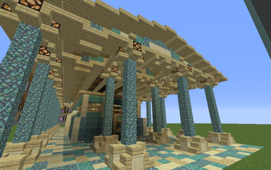 Greek Open Air Temple Creation 5464