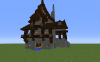 Small Log Cabin with Boat Dock