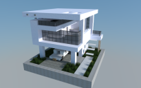 16x16 Modern house 0