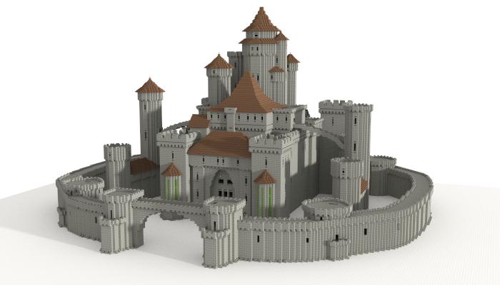 Castle (unfurnished), creation #5599